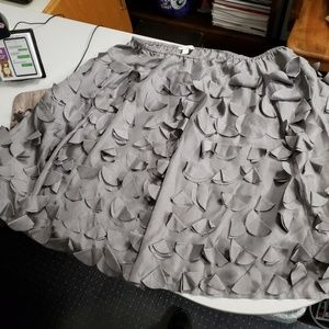 Beautiful grey a-line skirt
